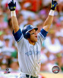 Roberto Alomar Home Run Game 4 of the 1992 ALCS Photo