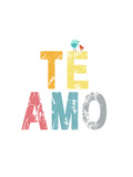 Te Amo Prints by Rebecca Peragine