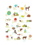 Alphabet (english) Prints by Rebecca Peragine
