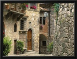 Tuscan Stone Houses Framed Photographic Print by William Manning