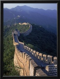 The Great Wall, Beijing, China Framed Photographic Print by Hal Gage