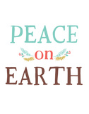 Peace on Earth Posters by Rebecca Peragine