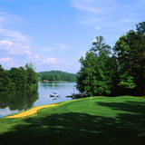 Lake on a Golf Course, Legend Course, Stillwaters Golf Club, Dadeville, Alabama, USA Photographic Print by Green Light Collection