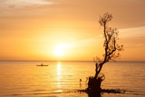 Sunset in Philippines Photographic Print by Antoine Besson