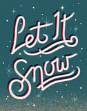 Let It Snow Prints by Rebecca Peragine