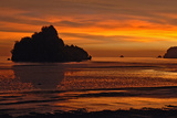 Sunset on the Beach - Phuket - Thailand Photographic Print by Norbert Jung
