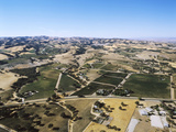 Aerial View of the Paso Robles Wine Country, California, USA Photographic Print by Green Light Collection