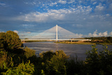 Cable-Stayed Bridge over the River Suir Waterford Bypass, County Waterford, Ireland Photographic Print by Green Light Collection