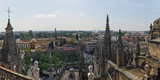 High Angle View of the Seville Cathedral, Seville, Andalusia, Spain Photographic Print by  Panoramic Images