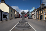 The Market Cross - and Quiet Man Pub, Cong, County Mayo, Ireland Photographic Print by Green Light Collection