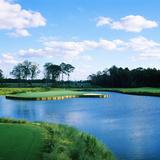 Pond in a Golf Course, Carolina Golf and Country Club, Charlotte, North Carolina, USA Fotografisk trykk av Green Light Collection