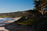 Coastline, Carmel Beach, Carmel-By-The-Sea, California, USA Photographic Print by Green Light Collection