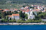 Mausoleum of the Petrinovic Family in Supetar, Brac Island, Split-Dalmatia County, Croatia Photographic Print by Green Light Collection