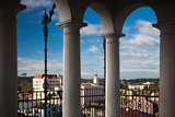 City Viewed Through from the Santa Barbara County Courthouse, Santa Barbara, California, USA Photographic Print by Green Light Collection