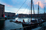 The Albert Dock, Liverpool, Merseyside, England Photographic Print by Green Light Collection