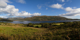 Lough Mask, at Clogh Brack Upper, (An Chloch Bhreac), Joyce's County, Connemara, County Galway Photographic Print by  Panoramic Images