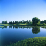 Pond in a Golf Course, Rich Harvest Farms, Sugar Grove, Kane County, Illinois, USA Photographic Print by Green Light Collection
