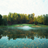 Trees in a Golf Course, Congressional Country Club, 11th Gold Nine, Potomac, Maryland, USA Photographic Print by Green Light Collection