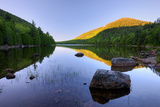 Bubble Pond at Dawn, Acadia National Park, Maine, USA Photographic Print by Green Light Collection