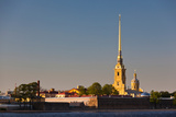 Saints Peter and Paul Cathedral, Peter and Paul Fortress, Neva River, St. Petersburg, Russia Photographic Print by Green Light Collection