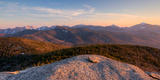 Evening Light on the Adirondack High Peaks, Adirondack Mountains, Adirondack Park Photographic Print by  Panoramic Images