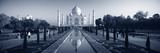 Reflection of a Mausoleum on Water, Taj Mahal, Agra, Uttar Pradesh, India Photographic Print by  Panoramic Images