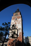 Wieza Ratuszowa, the 13th Century Town Hall Tower, Rynek Glowny the Main Market Square, Krakow Photographic Print by Green Light Collection