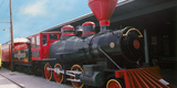 Locomotive at the Chattanooga Choo Choo, Chattanooga, Tennessee, USA Photographic Print by  Panoramic Images
