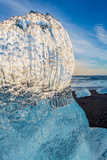Close Up on Ice. Ice Formations Come from the Jokulsarlon Glacial Lagoon Photographic Print by Green Light Collection