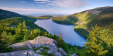 Jordan Pond from the North Bubble, Acadia National Park, Maine, USA Photographic Print by  Panoramic Images