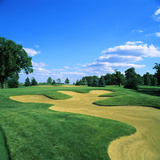 Sand Trap in a Golf Course, Rich Harvest Farms, Sugar Grove, Kane County, Illinois, USA Photographic Print by Green Light Collection