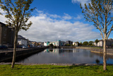 Enclosed Dock Off the Corrib River Near Claddagh Qauy, Galway City, Ireland Photographic Print by Green Light Collection