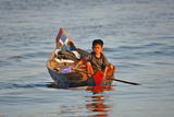 Back From the Floating Market Photographic Print by Norbert Jung