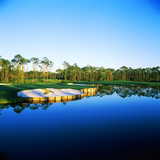 Golf Course at the Lakeside, Regatta Bay Golf Course and Country Club, Destin, Okaloosa County Photographic Print by Green Light Collection