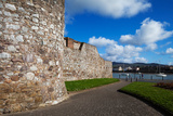 King John's Castle Walls, Dungarvan, County Waterford, Ireland Photographic Print by Green Light Collection