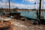 """Tall Ship """"Keeywaydin"""" , Dungarvan, County Waterford, Ireland Photographic Print by Green Light Collection"""