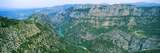 Aerial View of a Valley, Verdon Gorge, Provence-Alpes-Cote D'Azur, France Photographic Print by  Panoramic Images