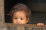 Child of The Mekong Fotografisk trykk av Norbert Jung