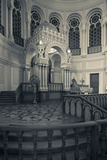 Interior of the Grand Choral Synagogue, St. Petersburg, Russia Photographic Print by Green Light Collection