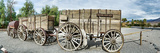 Wagons Loaded with Borax, Death Valley, Death Valley National Park, California, USA Photographic Print by  Panoramic Images