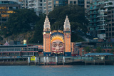 Luna Park on Milsons Point, Sydney, New South Wales, Australia Photographic Print by Green Light Collection