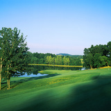 Trees in a Golf Course, Longaberger Golf Course, Nashport, Ohio, USA Photographic Print by Green Light Collection
