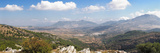 View from Puente Del Viento to the White Village of El Burgo, Malaga Province, Andalusia, Spain Photographic Print by  Panoramic Images
