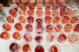 Wine Glasses, Dinner Cruise, Reykjavik, Iceland Photographic Print by Green Light Collection