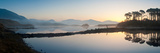 Lake at Dawn, Derryclare Lake, Connemara, County Galway, Ireland Photographic Print by  Panoramic Images