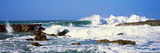Waves Breaking at Rocks, Hawaii, USA Photographic Print by  Panoramic Images