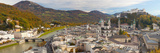 High Angle View of the City, Salzburg, Austria Photographic Print by  Panoramic Images