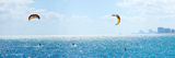 Parasailing over the Atlantic Ocean, Fort Lauderdale, Florida, USA Photographic Print by  Panoramic Images