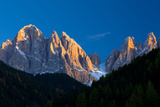 Mountains at Sunset, Dolomites, Val Di Funes, Trentino Alto Adige, South Tyrol, Italy Photographic Print by Green Light Collection