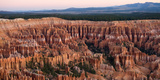 High Angle View of Rock Formations, Bryce Canyon, Bryce Canyon National Park, Utah, USA Photographic Print by  Panoramic Images